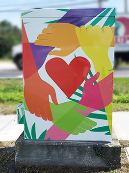 Community Love - Signal Box